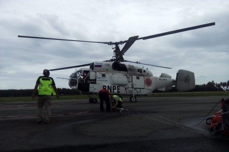 BNPB terbangkan helikopter dari Aceh padamkan karhutla di Riau