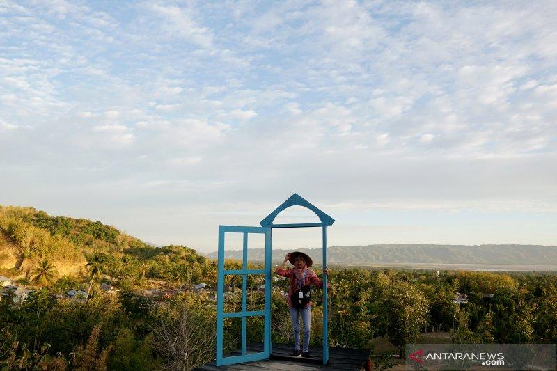 Peserta SMN Jatim kunjungi objek wisata Pintu Langit Talumelito