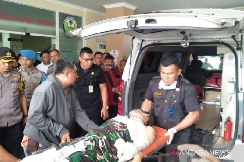 Polisi terbakar di Cianjur peroleh kenaikan pangkat