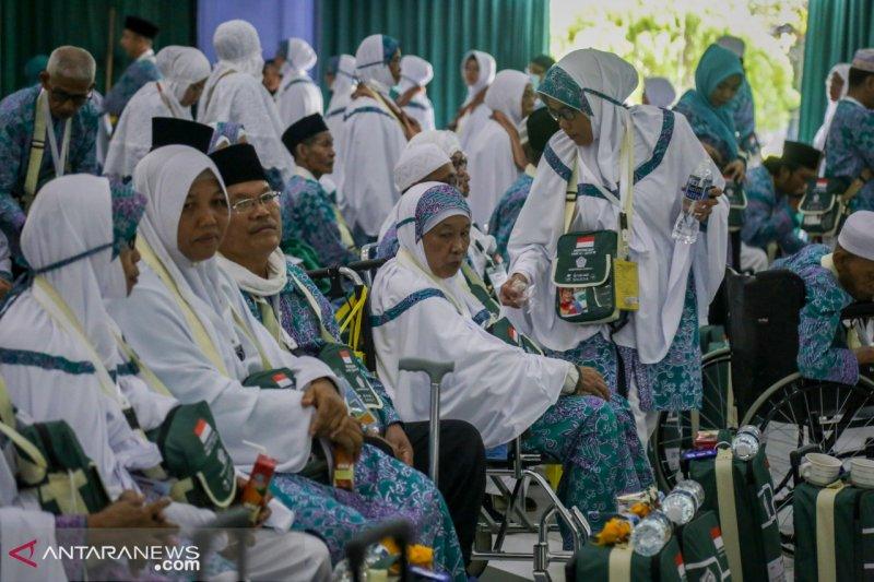 Jamaah Kloter 29 Batam mulai laksanakan tawaf ifadah