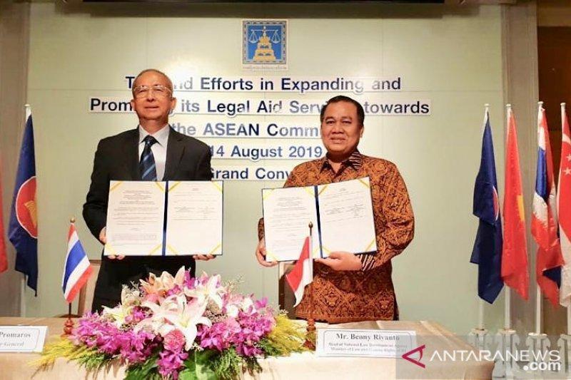 BPHN kerja sama dengan Kementerian Kehakiman Thailand