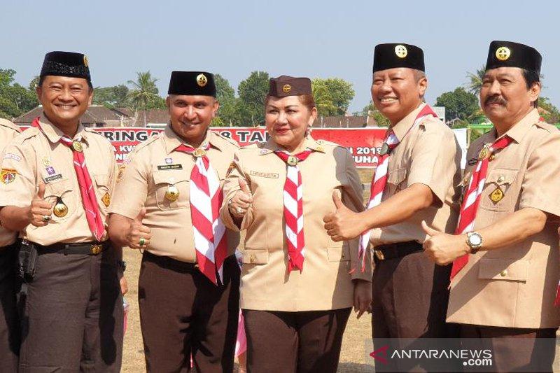 Pramuka Kwarcab Semarang diharapkan jadi panutan kaum milienal