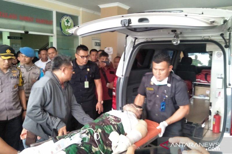 Dua polisi yang terluka dalam aksi mahasiswa Cianjur dirawat di RSHS