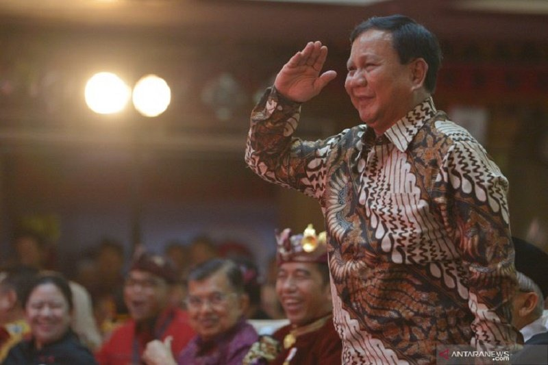 Prabowo nilai pemindahan ibu kota merupakan perjuangan Gerindra sejak 2014