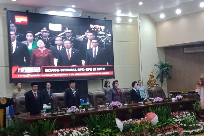 DPRD Manado gelar paripurna pidaor kenegaraan Presiden