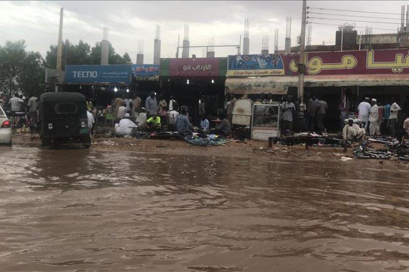 Banjir tewaskan 46 orang di Sudan