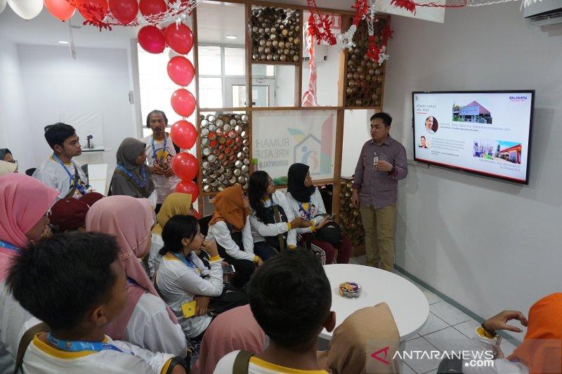 SMN Jatim kunjungi Rumah Kreatif Gorontalo