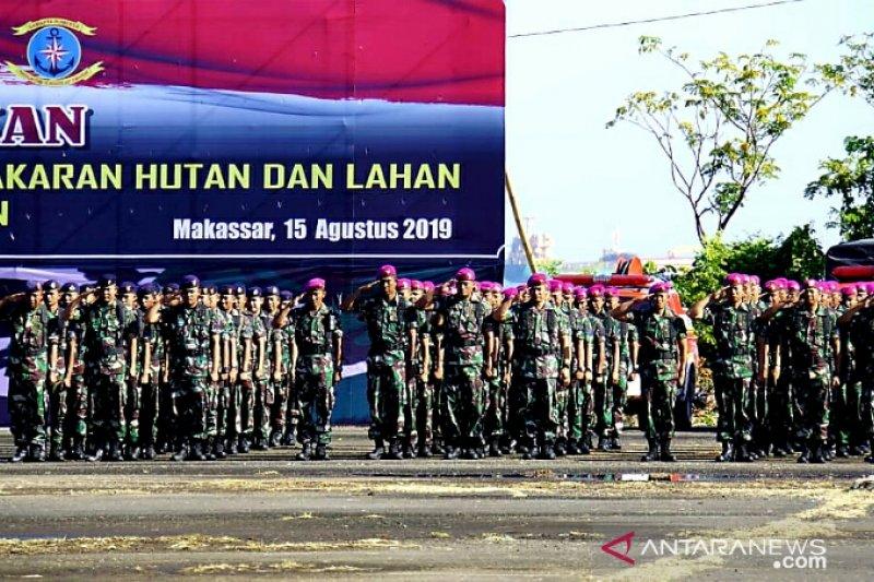 Lantamal VI siap bantu atasi Karhutla di Sulawesi Selatan