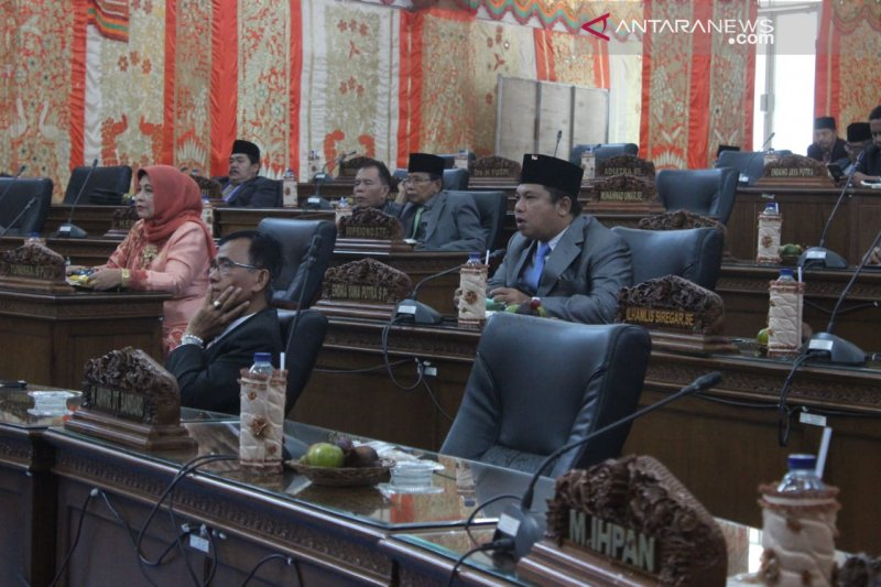 Minimnya anggota DPRD yang hadir dengarkan pidato Jokowi