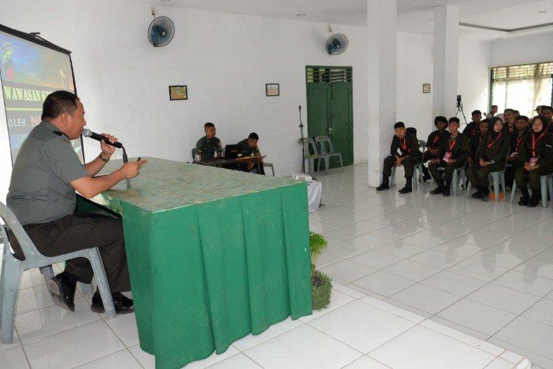 Siswa Mengenal Nusantara asal Sulteng diberikan wawasan kebangsaan