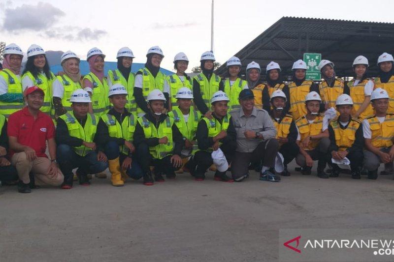 Nindya Karya kenalkan profil kepada peserta SMN dari Jawa Tengah