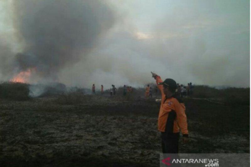 Selama dua Minggu Karhutla capai 25 hektare terbakar