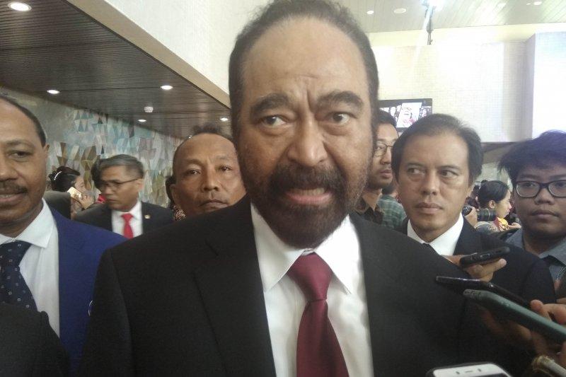 Surya Paloh: Pidato kenegaraan Jokowi terbaik selama menjabat Presiden
