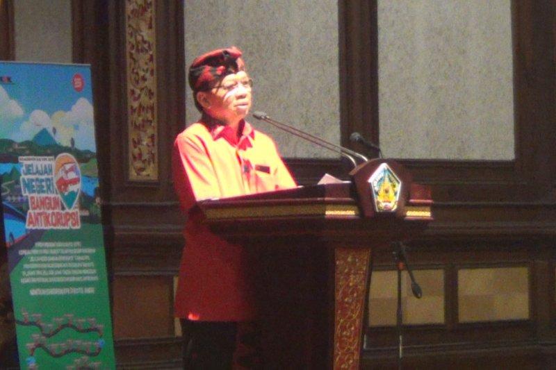 Bali peringkat empat nasional bersih korupsi