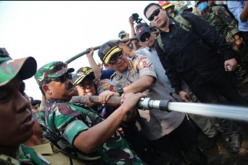 Panglima TNI akan copot anak buah yang gagal tangani Karhutla
