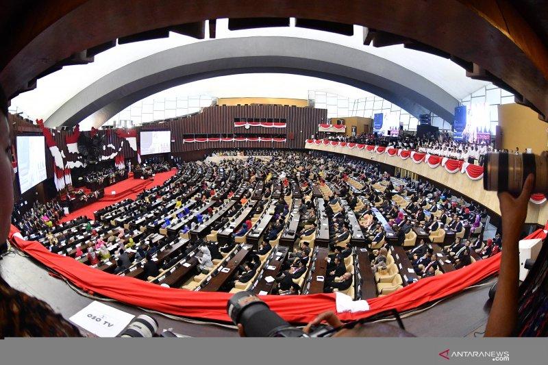 DPR apresiasi rekonsiliasi Jokowi dan Prabowo pascapemilu