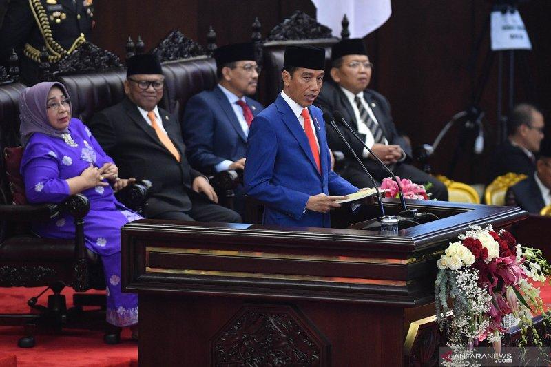 Isi lengkap Pidato Presiden pada penyampaian keterangan RAPBN 2020