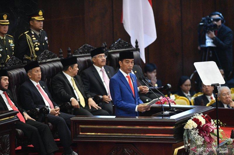 Jokowi meminta izin rakyat Indonesia untuk pindah ibu kota