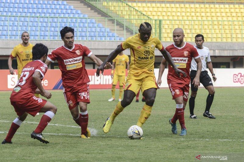 Bhayangkara FC lanjutkan catatan negatif usai ditaklukkan tim tamu Perseru 0-1