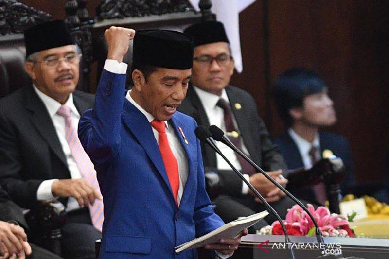 Presiden Jokowi yakin Indonesia bisa jadi kekuatan ekonomi dunia