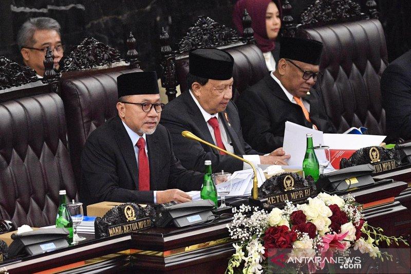 Ketua MPR ajak pemimpin bangsa kedepankan sikap kenegarawanan