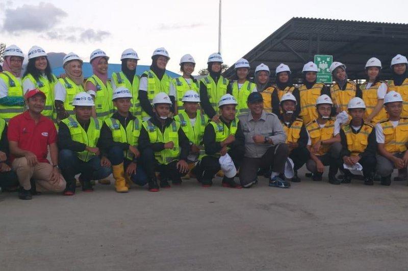 WIKA ajak peserta Siswa Mengenal Nusantara lihat pembangunan Bendungan Kuwil