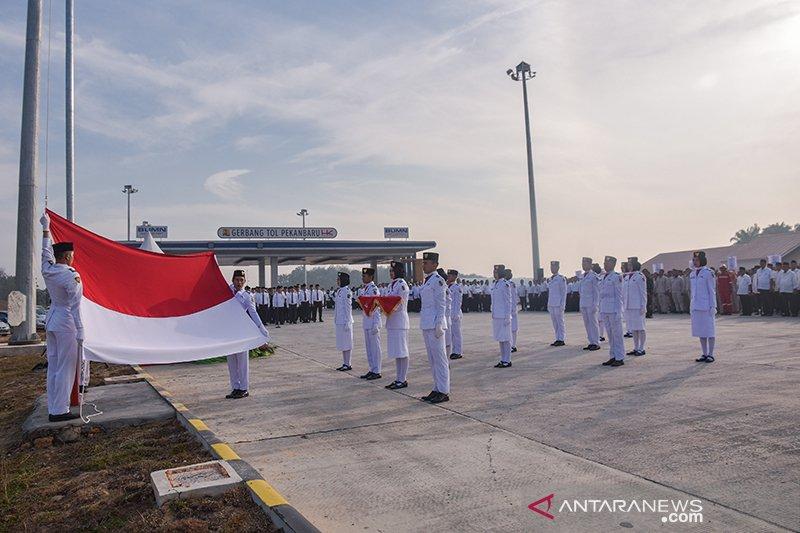 Hutama Karya optimis tol Pekanbaru-Dumai beroperasi November 2019