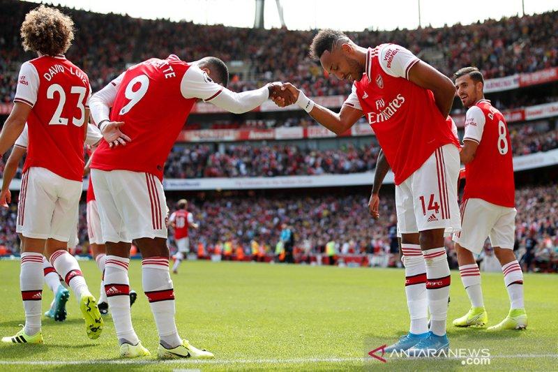 Aubameyang bawa Arsenal menang lagi
