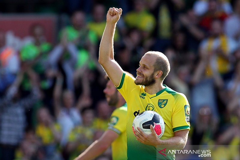Aston Villa kalah 3-1 di kandang Norwich