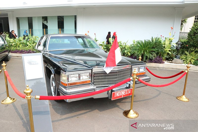 Pameran eks mobil kepresidenan