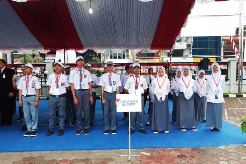 Peserta SMN Sulsel ikut upacara HUT RI di Papua