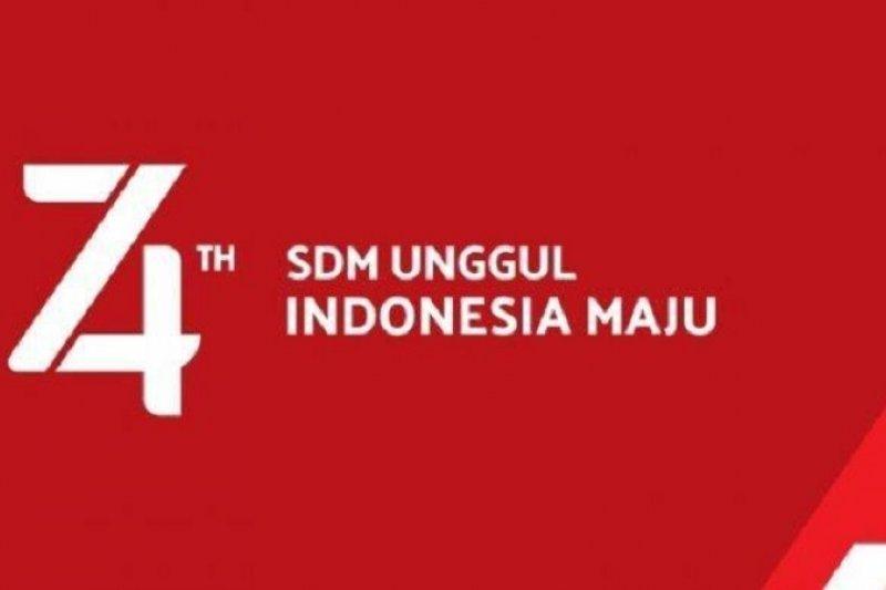 "Lima kata tentang tema HUT ke-74 RI : ""SDM Unggul Indonesia Maju"""