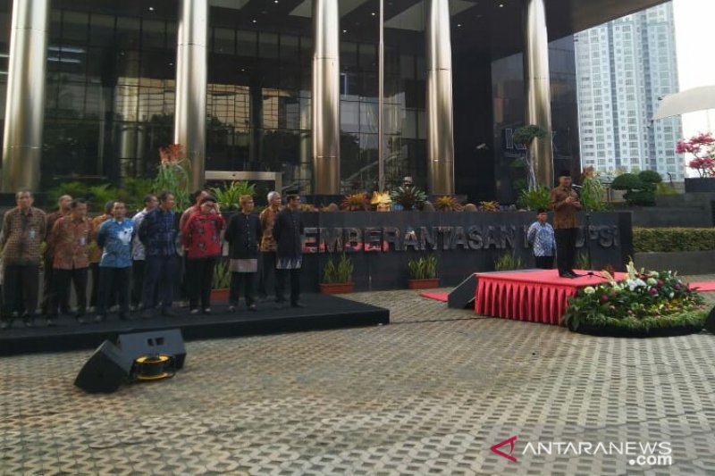 KPK: Presiden Jokowi tidak lupakan penindakan dalam hukum
