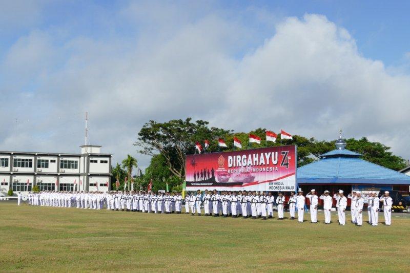 Koarmada III TNI AL gelar upacara HUT Kemerdekaan