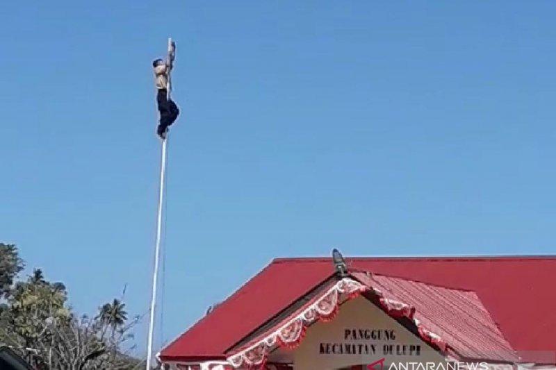 Pelajar SMP Dulupi pemanjat tiang bendera akan diberi beasiswa Gubernur