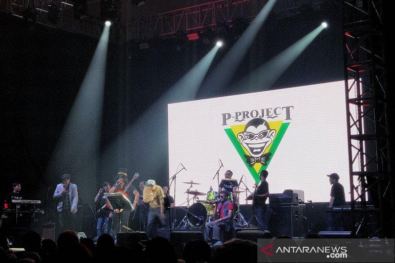 Lagu parodi P-Project semarakkan Festival Mesin Waktu