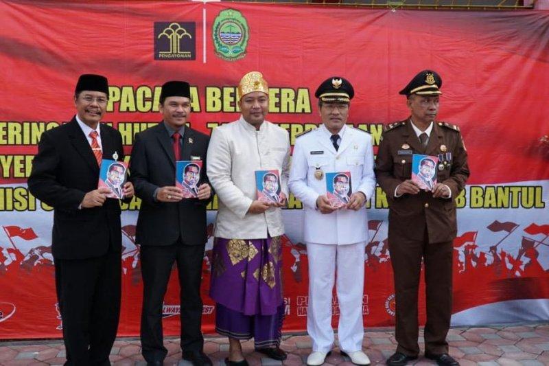 Enam narapidana Rutan Bantul bebas usai terima remisi Kemerdekaan