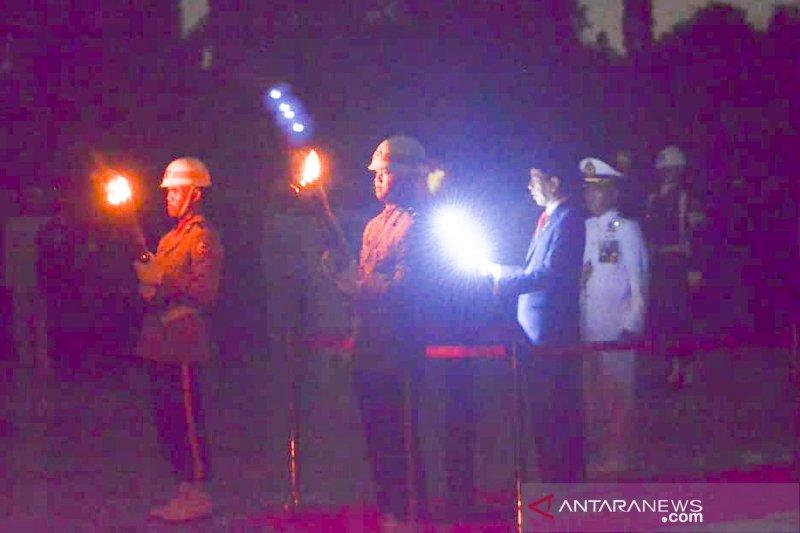 Presiden Jokowi: jalan para pahlawan adalah jalan bangsa Indonesia