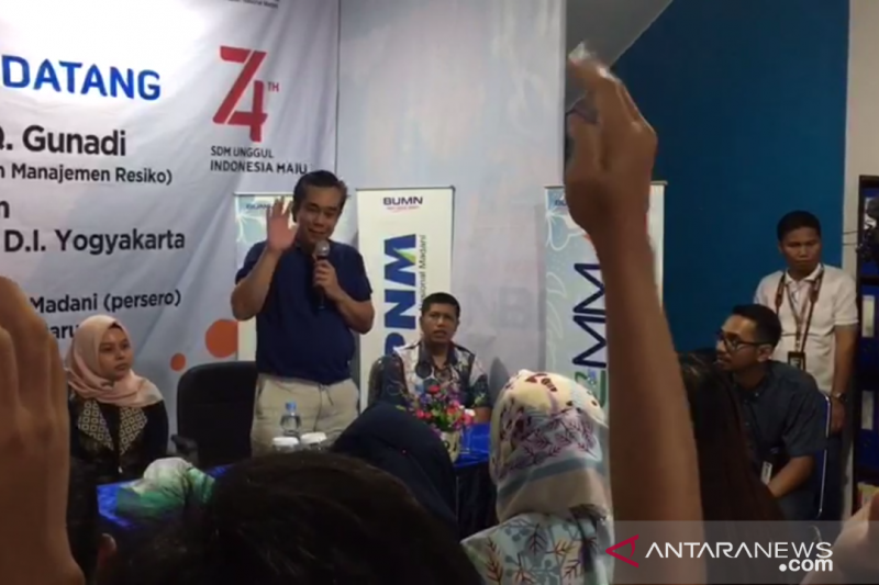 Peserta SMN Yogyakarta tertarik cara pinjam modal usaha di PNM