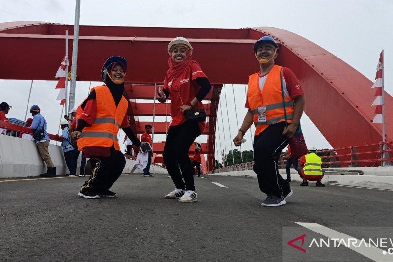 Peserta SMN menilai Jembatan Youtefa bisa menarik wisman