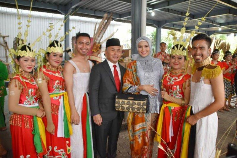 Gubernur apresiasi tim kesenian Kalteng tampil di Istana Merdeka