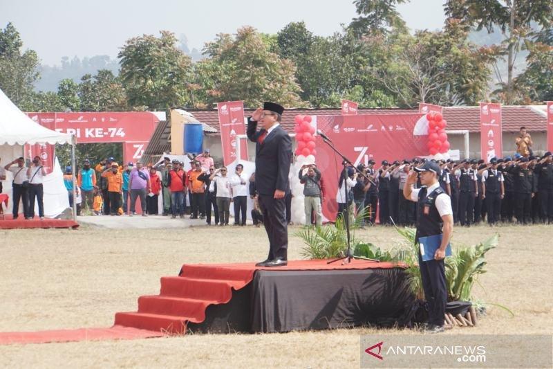 BUMN rayakan HUT RI bersama warga lereng Merapi