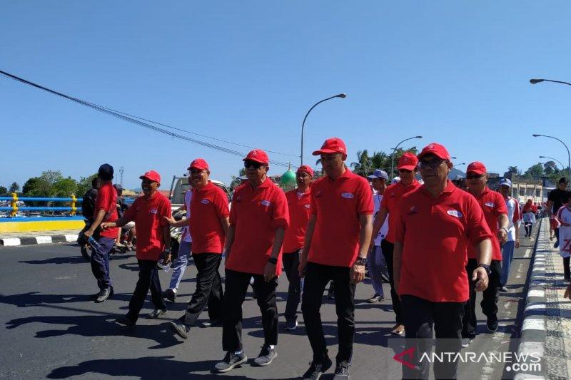 WIKA-Damri-BKI-Nindya Ajak Masyarakat Manado Jalan Sehat 5K