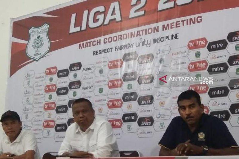 PSMS Medan datangkan empat pemain baru untuk hadapi putaran kedua Liga 2