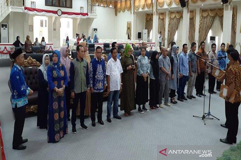 Anggota DPRD Barito Utara terpilih dilantik besok