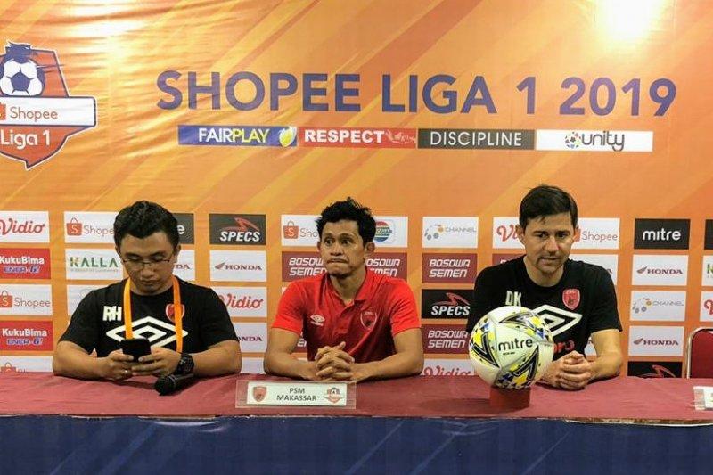 Pelatih PSM bangga pemainnya yang dipanggil timnas