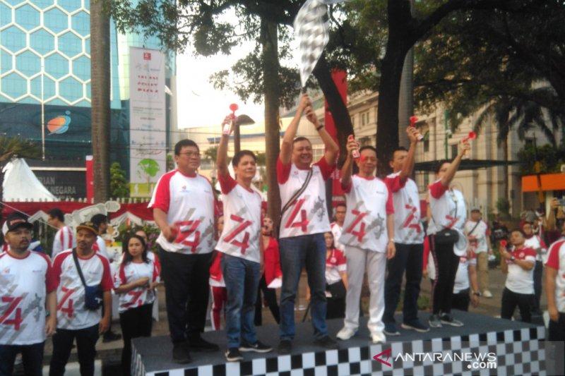 Jalan Sehat warnai kegiatan BUMN Hadir Untuk Negeri di Jakarta