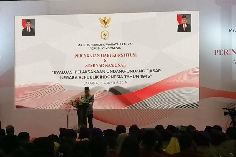 MPR sebut Pemilu serentak 2019 masih sisakan masalah polarisasi