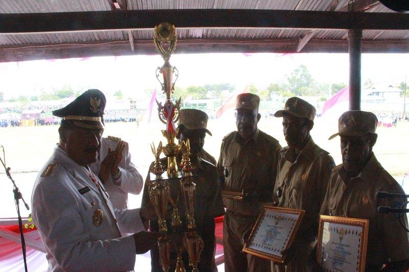 Dlinggama Jayawijaya juara dua pengelolaan dana kampung tingkat Provinsi Papua