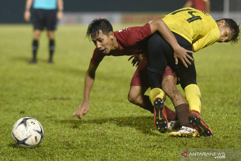 Di babak pertama, Timnas U-18 Indonesia libas Myanmar 5-0